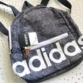 Adidas Bags | Adidas Grey Mini Backpack | Color: Gray/White | Size: Os