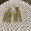 Madewell Jewelry   Madewell Two Tone Fashion Earrings   Color: Gold/Silver   Size: Os