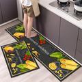 Tapis de sol de cuisine étanche, style nordique Simple et à la mode, tapis de maison, Long tapis de