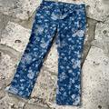 Ralph Lauren Jeans   Lauren Jeans Co Ralph Lauren Modern Straight Ankle   Color: Blue/White   Size: 12p