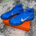Nike Shoes | Nike Alpha Sensory Turf Soccer Shoe Mens Size 11 | Color: Blue/Silver | Size: 11