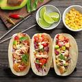 WPENGW Taco Holders Stainless Steel Set Of 4, Oven&Grill&Dishwasher Safe, Taco Accessories For Taco Tuesday Party, Easy-To-Hold Handle in Gray