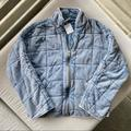 Free People Jackets & Coats | Nwt Free People Quilted Dolman Jacket Turquoise | Color: Blue | Size: Xs