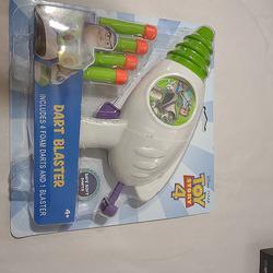 Disney Toys | Buzz Light-Year Dart Blaster | Color: White | Size: Osbb