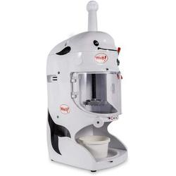 Lomana 350W Commercial Electric Ice Shaver Snow Cone Maker Machine in White, Size 29.92 H x 19.29 W x 14.96 D in | Wayfair M1641