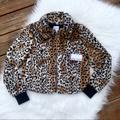 Nine West Jackets & Coats   Nwt Nine West Cheetah Faux Fur Coat Jacket Xs   Color: Black/Brown   Size: Xs