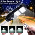 Arlmont & Co. Solar Sensor Outdoor Light w/ Light Control & Radar Built-In Sensor Black Plastic/Steel in Black/Gray, Size 3.0 H x 8.0 W x 19.0 D in