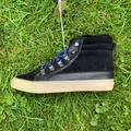 American Eagle Outfitters Shoes | American Eagle Van Style Sneaker Blackblue | Color: Black/Blue | Size: 7