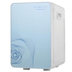 ihometea 20L Portable Small Mini Fridge,Car Refrigerator Mini Cold & Warm Refrigerator in Blue, Size 16.54 H x 10.63 W x 12.99 D in   Wayfair