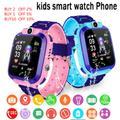 Montre connectée SOS pour IOS et Android Z5S, bracelet pour enfants, étanche IP67, avec carte Sim et