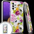 Samsung Galaxy A32 5G Slim Phone Case with Printed Floral Design compatible only with Samsung Galaxy A32 5G, Multi-Color For Galaxy A32 5G
