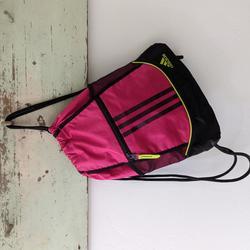 Adidas Bags   Adidas I Cinch Sackpack Rucksack Backpack Bag   Color: Black/Pink   Size: Os