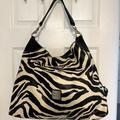 Dooney & Bourke Bags   Dooney And Bourke Zebra Hobo Bag W Dust Bag   Color: Black/White   Size: 20 X 16 X 4. 10 Drop Strap
