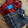 Columbia Shirts | Columbia Men Flannel Long Sleeve Button Up | Color: Blue/Red | Size: Xl