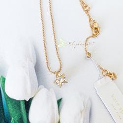 Kate Spade Jewelry   Kate Spade Necklace Gold Crystal Star Necklace   Color: Gold   Size: Os