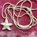 J. Crew Jewelry | 30 J. Crew Starfish Necklace | Color: Gold | Size: 30