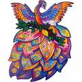Polar Wooden Puzzle Jigsaw, Best Gift For Adults & Kids, Unique Shape Jigsaw Pieces Fairy Bird, 11,6 X 15,1 Inches, 297 Pieces, King Size   Wayfair