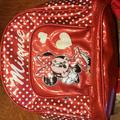 Disney Accessories | Disney Minnie Backpack | Color: Red/White | Size: Osbb