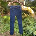 J. Crew Jeans   J. Crew Dark Denim Skinny Jeans   Color: Blue   Size: 26