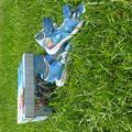 Disney Shoes | Disney Frozen Girls Light Up Sandals Size 9 | Color: Blue | Size: 9g