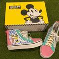 Vans Shoes | Kids Vans Disney Mickey High Top | Color: Blue/Pink | Size: 12g