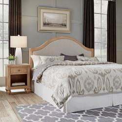 Cambridge White King Headboard & Night Stand by Homestyles in White