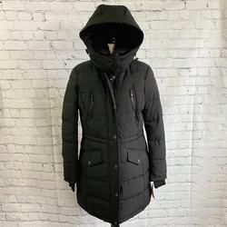 Michael Kors Jackets & Coats | Michael Kors Faux Shearling Collar Puffer Jacket | Color: Black | Size: M