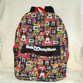 Disney Accessories   Ln Disney Backpack   Color: Black/Red   Size: Osbb