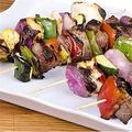 SLEI Bamboo Sticks, BBQ, Roaster Barbecue Smores Skewers & Hot Dog Forks For Camping,Kebab Sausage Marshmallow Roasting Sticks | Wayfair