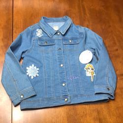 Disney Jackets & Coats | Disney Elsa Denim Jacket Jean Jacket | Color: Blue | Size: 10g