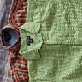 Polo By Ralph Lauren Shirts | 2 Young Men'S Button-Down Collared Shirts. | Color: Green/White | Size: S