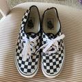 Vans Shoes | Checkered Vans Skate Shoes | Color: Black/White | Size: 8.5