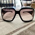 Gucci Accessories | Authentic Gucci Horsebit Sunglasses W Case | Color: Black | Size: Os