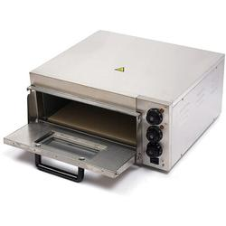 JOYGOGO Electric Pizza Oven, 2000W Stainless Steel Pizza Oven Countertop Single Deck Pizza Oven Multipurpose Oven in Gray | Wayfair 3972