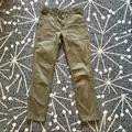 J. Crew Pants & Jumpsuits | J. Crew Low Rise Khaki Jeans Euc Size 2 | Color: Green | Size: 2
