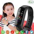 Montre numérique pour enfants, Bracelet de Sport, moniteur d'activité physique, étanche, pour filles