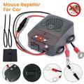 Répulsif Anti-rat 12V, répulsif de souris ultrasonique pour voiture, Non toxique, garder les