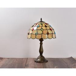 """Astoria Grand Carlita 18.11"""" Accent Bronze Table Lamp Outlet Resin/Glass in Blue/Brown/Green, Size 18.11 H x 12.0 W x 12.0 D in 