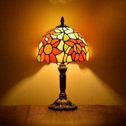 Astoria Grand Carlita Accent Bronze Table Lamp in Blue/Brown/Yellow, Size 14.6 H x 7.9 W x 7.9 D in   Wayfair E9C77A02B12D41DDBB83D69B11B64503
