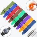 Accessoires de montre pour Swatch, bracelet en silicone 17mm 19mm, bracelet en caoutchouc, bracelet