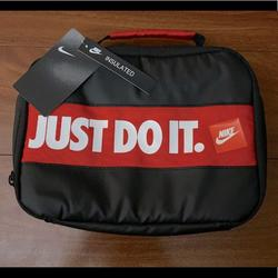 Nike Accessories | Nike Insulated Lunch Bag Nwt | Color: Black/Red | Size: Lunch Bag