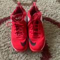 Nike Shoes | Mens Lebron Low Basketball Shoes | Color: Red/White | Size: 13