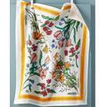 Anthropologie Kitchen | Anthropologie Bandana Flour Sack Dishtowel | Color: Gold/White | Size: Os