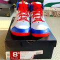 Nike Shoes | Nike Air Jordan Carmelo Anthony Sneakers | Color: Blue/White | Size: 8.5