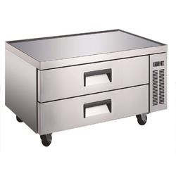 Cooler Depot Commercial Refrigerator 52 In Two Drawer Chef Base in Gray, Size 26.0 H x 52.0 W x 32.0 D in | Wayfair CB52