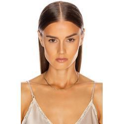 Herringbone Plait Necklace - Metallic - Loren Stewart Necklaces