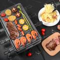 SDPP Raclette Table Grill, Korean BBQ Grill Electric Indoor Cheese Raclette, Removable Non-Stick Surface, Temperature Control & Dishwasher Safe