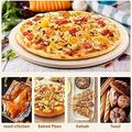 tarye Pizza Stone 13 Inch Round,Heavy Duty Cordierite Pizza Stones For Oven & Grill,Thermal Shock Resistant Baking Stone,Pizza Grilling Stones