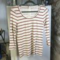 J. Crew Tops   J. Crew Womans Top 34 Sleeve Round Neck S White   Color: White   Size: S