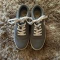 Nike Shoes | Nike Grey Canvas Tennis Shoes | Color: Gray | Size: 7